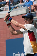 Tomáš Berdych (Svengali Jack) Tags: usta summer august september us open tennis grand slam major tournament racquet sport sports match set serve forehand backhand groundstroke ground stroke volley return grandstand stadium court hard 2017 ball athlete athletic athleticism winner run game