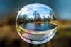 The Lake at Pontypool Park (julesjacks15023) Tags: jinx pontypool park lake water glass orb sphere floating colour blue