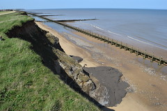 DSC_0308 (.Martin.) Tags: happisburgh coast norfolk sea seaside beach coastal erosion cliff cliffs cley sand rock