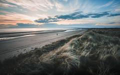 Sunset walks.. (itsjamesy) Tags: canon 6d 1740mm scotland scottish ayrshire sunset irvine kilwinning troon beach clouds sky walks