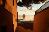 ORANGE SCENERY (Yonatan Souid) Tags: colors portugal lisboa lisbonne light shadows atmosphere cityatmosphere beautiful city europe travel sunset takeabreath life afternoon walk photography passion shot allislight