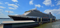 Panoramic view of Queen Victoria Cruise ship (Sportybeach Photography (Jonnywalker)) Tags: liverpoolcruiseterminal cruise queenvictoriacruiseship ship liverpool merseyside river panoramic panorama sea coast holiday cunard rivermersey cruiseterminal wirral cruiseship