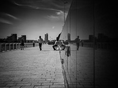 Parallel Universe (stephen cosh) Tags: blackandwhite glasgow hasselbladx1d hasselbladxcd45mm stephencosh streetphotography