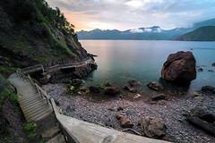 Golfe de Girolata (Arnaud Grimaldi) Tags: embarcadère débarcadère vignola golfe girolata unesco porto scandola coucher soleil sunset corse corsica