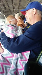 "Dani with Grandpa Miller at the Cubs Game • <a style=""font-size:0.8em;"" href=""http://www.flickr.com/photos/109120354@N07/41320385080/"" target=""_blank"">View on Flickr</a>"