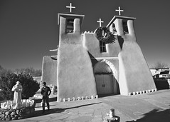 Iain McLean @ Ranchos de Taos, New Mexico. (mcleanab) Tags: san francisco de assisi mission church taos new mexico christmass 2017 usa america