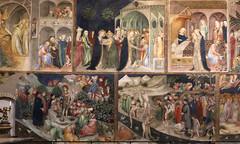 fratelli Salimbeni - Lorenzo (1374 - prima del 1420) e Jacopo (1347 - dopo 1427) - Storia di San Giovanni Battista (1416) - Oratorio di San Giovanni Battista - Urbino (raffaele pagani) Tags: oratoriodisangiovannibattista oratoryofstjohnthebaptist crucifixion urbino pittura painting affreschi frescoes goticointernazionale internationalgothic lorenzoejacoposalimbeni storiadisangiovannibattista historyofstjohnthebaptist crocefissione urbinummataurense centrostoricodiurbino unesco unescoworldheritagesite patrimoniodellunesco patrimoniomondialedellumanità provinciadipesaroeurbino provinceofpesaroandurbino marche centroitalia centerofitaly italia italy canon