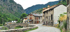 Merens, Ariege, France (M McBey) Tags: merens france pyrenees road traffic pass nikkor 50mmf20ai