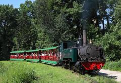 Departing Zoo Station (jterry618) Tags: omahazoorailroad henrydoorlyzoo omaha nebraska steamlocomotive steamengine narrowgauge steamtrain