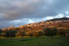 Assisi (Valerio Seveso) Tags: assisi lungaesposizione tramonto sunset umbria