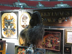 Leeds Tattoo Convention 2018 (the_gonz) Tags: leeds tattoo conventiontattoo conventionstar warssentinel squad chewbacca wookie cosplay solo