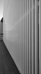 Parkhaus Eingang (greenoid) Tags: parkhaus eingang struktur structure black white stripes streifen
