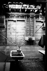 Lawrence MA_film-27 (them_cairo_doors) Tags: film bw manual minolta minoltax700 architecture mill abandoned