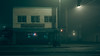 Randy's (llabe) Tags: architecture building street cinematic mood night foggy randy'sloan southtacomaway tacoma washington nikon d750