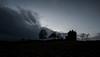 Exploring the Castle (gallowaydavid) Tags: balvairdcastle castle exploring silhouette dusk perthshire trees clouds