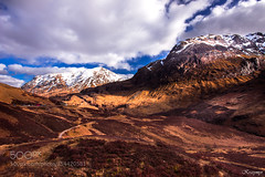 Perspective view (KevinBJensen) Tags: mountain range hill peak ridge scenery scenic valley landscape snowcapped rolling extreme terrain
