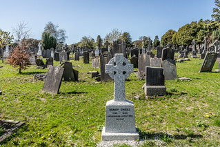 THE RECENTLY MARKED GRAVE OF HENRY O'NEILL [THIS SMALL CROSS WAS ERECTED IN 2016]-138640