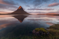 Kirkjufell Reflected (Iurie Belegurschi www.iceland-photo-tours.com) Tags: adventure arctic beautiful cloudy clouds daytours earth enchanting fineart fineartlandscape fineartphotography fineartphotos finearticeland guidedphotographyworkshops guidedtoursiceland guidedphotographytour guidedtoursiniceland icelandphototours iceland iuriebelegurschi icelandic icelanders icelandphotoworkshops icelandphotographyworkshops icelandphotographytrip kirkjufell landscape landscapephotography landscapephoto landscapes landscapephotos landofthemidnightsun midnightsun mountain moss mossy midnight mirrorlike mirror mountains nature outdoor outdoors phototours photographyiniceland phototour photographyworkshopsiniceland reflection serene summer sky sunset travelphotography travel tripsiceland view workshop water workshops gameofthrones