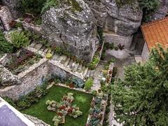 Meteora rock garden (Tony Tomlin) Tags: meteora greece europe monastery garden thessaly greekorthodox
