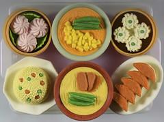 Chinese Buffet-HMM! (Jo Zimny Photos) Tags: macromondays erasers rubber food chinesebuffet