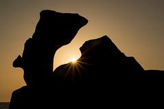 Corse (Yann OG) Tags: corse corsica france français french rocher mer sea sunset coucherdesoleil silhouette soleil sun sunray sunlight rayon 50mm seascape campomoro contrejour