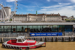 The old County Hall, South Bank, London 2018 (champnet) Tags: canon 80d 18135mm stm london eye thames westminsterbridge