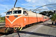 莒光號 (Eason☞) Tags: 冬山車站 瓜棚 dongshanstation dongshan station nikon nikond7200 莒光號 火車 列車 電力機車