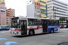 Nishitetsu 9004 (Howard_Pulling) Tags: fukuoka bus buses japan japanese howardpulling