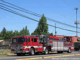 Portland Fire & Rescue Truck 7
