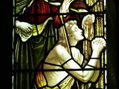 365/206 [250718] - Pray (maljoe) Tags: 365 thedailypost stainedglass stainedglasswindow stainedglasswindows church churches sthelenchurchtown sthelen lancashire pray prayer