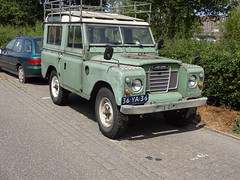 1976 Land Rover 88 Series III (Skitmeister) Tags: 36ya36 carspot nederland skitmeister car auto pkw voiture