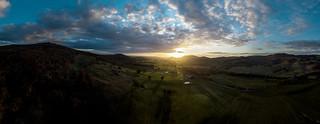 sunset at barnawartha victoria