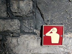 ow (Martin Deutsch) Tags: wales caernarfon castle caernarfoncastle sorehead pictogram