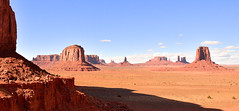 Monument Valley (M McBey) Tags: monumentvalley usa landscape red navajo butte shadow