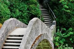 Teufelsbrücke (PinoyFri) Tags: stairway teufelsbrücke danubevalley donautal steinbrücke devilsbridge lepontdudiable puentedepiedra pontedepedra natursteine 石橋 pontdepierre pontedipietra 돌다리 scala 樓梯 hagdan tangga 계단