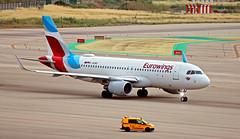 Eurowings / Airbus A320-214 / D-AEWS (vic_206) Tags: bcn lebl eurowings airbusa320214 daews