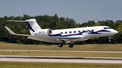 Gulfstream Aerospace G-VI HB-IVJ ExecuJet Europe (William Musculus) Tags: basel mulhouse freiburg airport euroairport aeroport bsl mlh eap lfsb spotting hbivj execujet europe gulfstream aerospace gvi g650