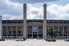 Berlin Olympiastadion (Håkan Dahlström) Tags: 2018 architecture berlin germany olympiastadion olympic photography stadium xt1 f80 1400sek xc50230mmf4567ois uncropped 9506072018160615 bezirkcharlottenburgwilmersdorf de