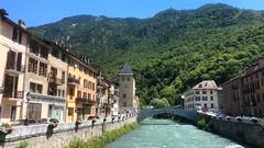 Savoie S002. (Joanbrebo) Tags: river rio riu bridge puente pont iphone365 iphonex savoie france moûtiers