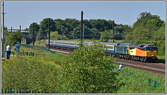 47727 & 47729 off to see the tall ships (Mark's Train pictures) Tags: 47749 47727 pathfinder pathfinderrailtours railtour charter locohauledpassengertrain ecml eastcoastmainline class47 brblue