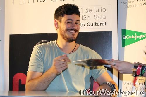 CEPEDA | FIRMA DE DISCOS 'PRINCIPIOS' EN MADRID (Por @nvictorn)