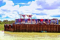 Laundry day in Tonle'  Sap Lake (Chandana Witharanage) Tags: cambodia southeastasia siemreap tonlesaplake floatingvillageintonlesaplake river boat ride laundryday wewereinaboat 7dwf saturdaylandscapes
