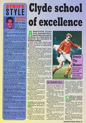 Scottish Football Today - August 1994 - Page 21 (The Sky Strikers) Tags: scottish football today magazine august 1994 one pound fifty theo snelders