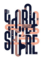Yorkshire in Yellow / Sheffield Design Week (inspiration_de) Tags: design england exhibition graphicdesign lettering poster typography yellow