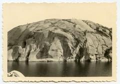 . (Kaïopai°) Tags: vintage 1940er 1940s occupation scandinavia fjord rock fels meer ufer sea coast