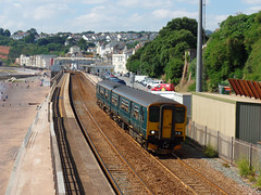 150232 Dawlish (1) (Marky7890) Tags: gwr 150232 class150 sprinter 2f23 dawlish railway devon rivieraline train