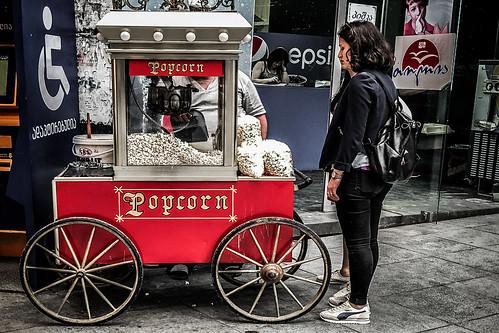 Sad about popcorn