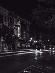 IMG_5420 (JPEGG Images / Jacob Pegg) Tags: night tennessee franklin usa canon south city old 6d country bnw bw buildings building motion