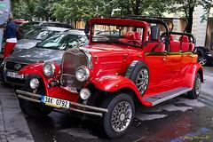Red Ford on Paris Street (Roy Prasad) Tags: green prague praha czechia czechrepublic travel europe vacation prasad royprasad sony a7r a7rm3 ilce7rm3