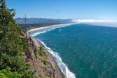 Neahkahnie Roadside View (LinRush) Tags: 2018 coast hwy101 neahkahinemountain oregon